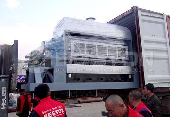 Cliente De Beston Máquina Moldeadora - En Paraguay