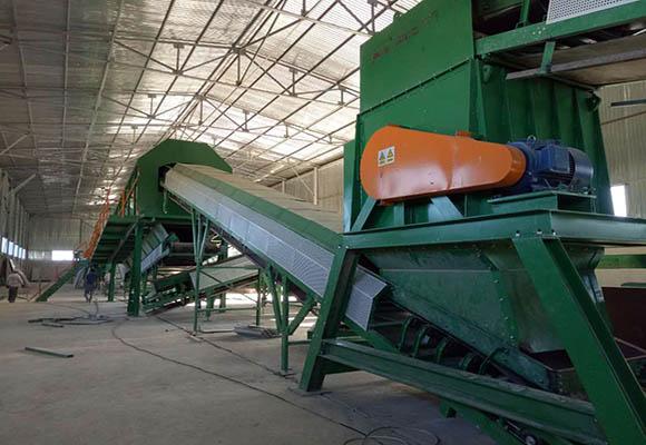 Cliente De Beston Planta Tratamiento De Residuos Sólidos En Perú