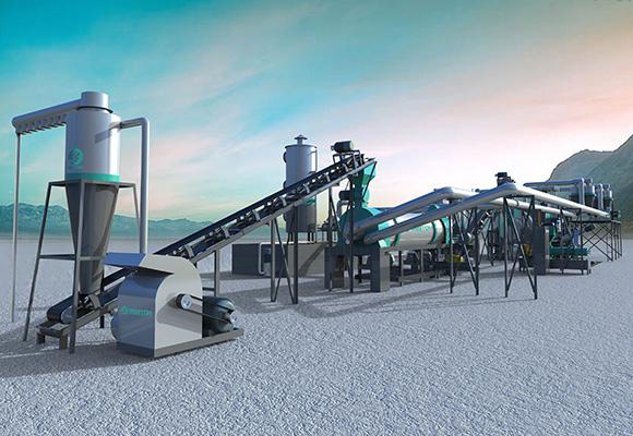 Máquina Para Hacer Carbón - Beston