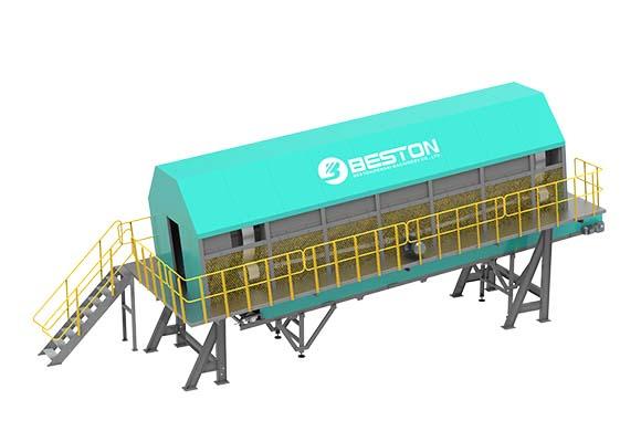 Máquina Serparadora Giratoria De Residuos - Beston