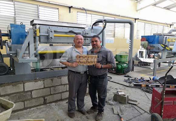 Nuestra Cliente De Beston Máquina - En Dominica