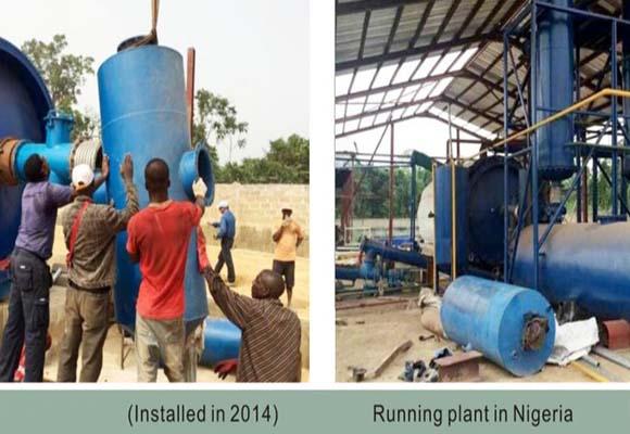 Planta Pirólisis De Beston En Nigeria 2014