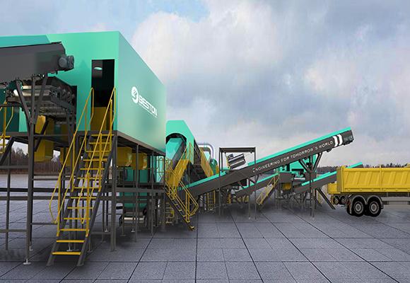 Planta Tratamiento De Residuos Sólidos - Beston