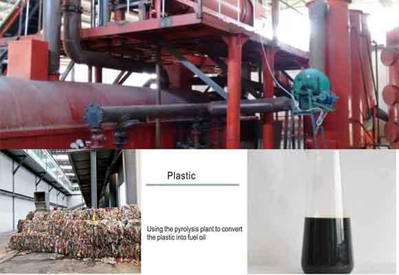 Planta Pirólisis De Plásticos