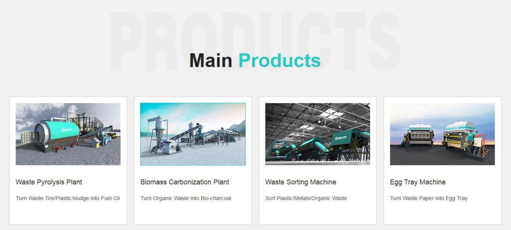 Productos De Beston Eco Grupo Reciclaje