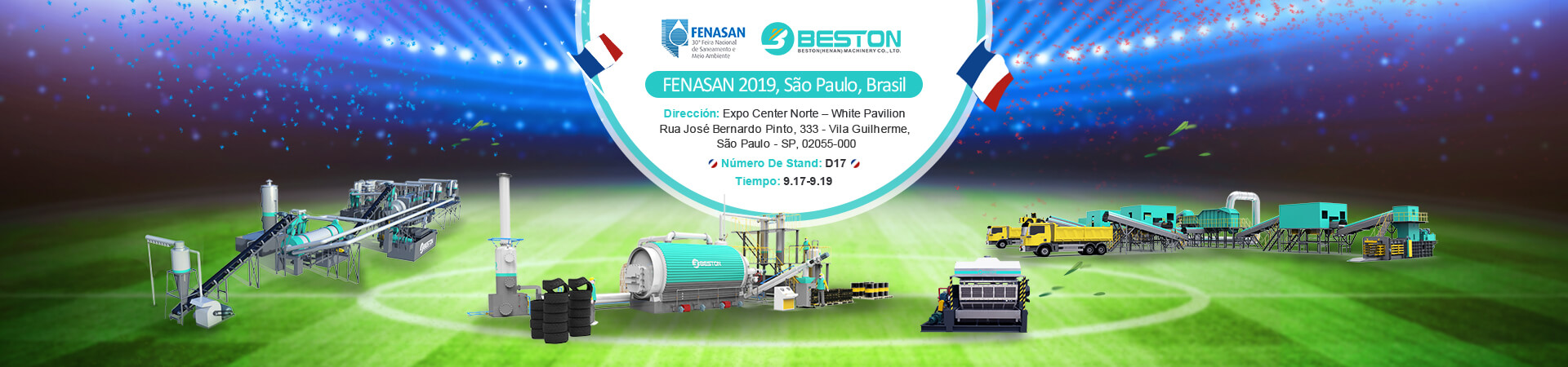 Exposición FENASAN En Brasil
