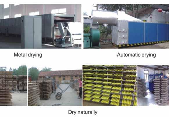 Proceso De Máquina Para Fabricar Cubetas De Huevos
