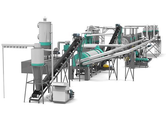 Pirólisis Continua para Residuos Sólidos Modelo BST