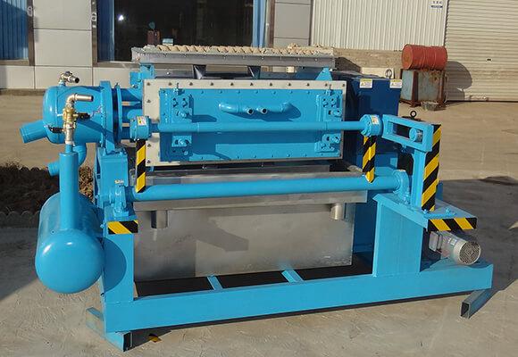 Máquina Para Fabricar Bandejas De Huevos BTF-4