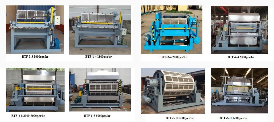 serie BTF la maquina para hacer cubetas de huevos-beston