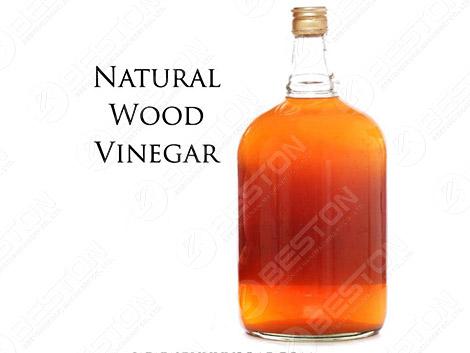 Vinagre de Madera - producto de carbonización