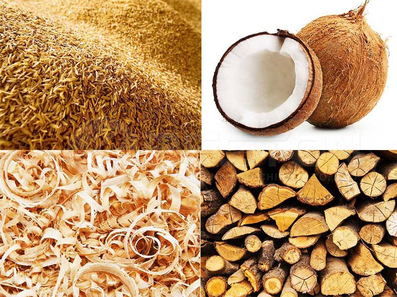 Biomasa- la materia prima de carbonizacion