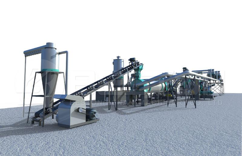 Máquina para Hacer Carbon Vegetal-bestoneco
