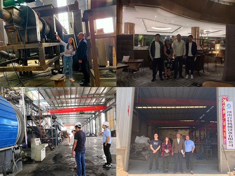 Visitan la Fábrica de Beston