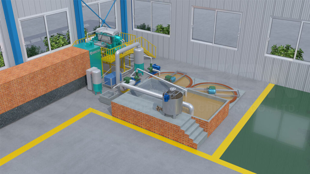 Máquina para Hacer Cartones del Huevo de BESTON -3D