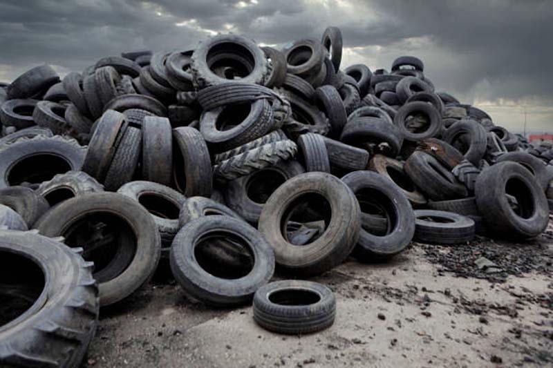 Eliminación de Neumáticos usados y Neumáticos de Caucho