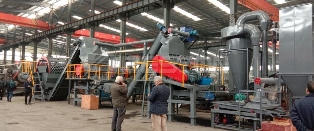 Trituradora de Llantas en España